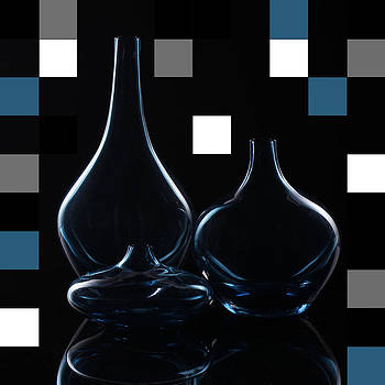 Turquoise Vases by Katy Irene