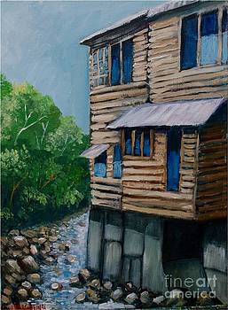 Turrialba's house by Jean Pierre Bergoeing