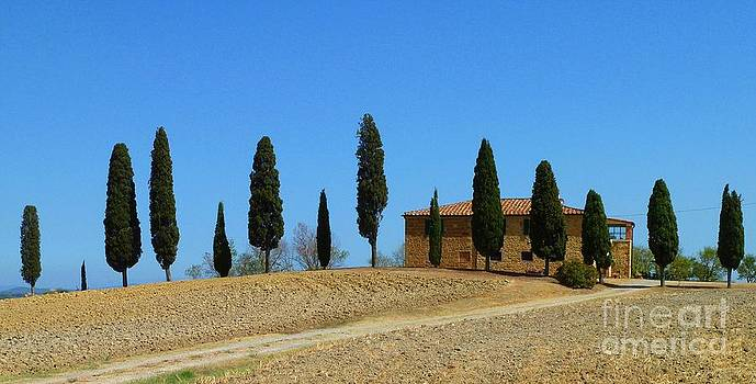 Tuscan House  I cipressini/Italy/Europe  by Christine Huwer