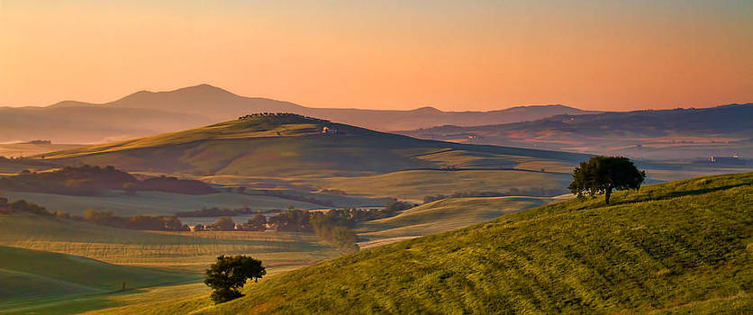 Tuscan Morning by Daniel Sands
