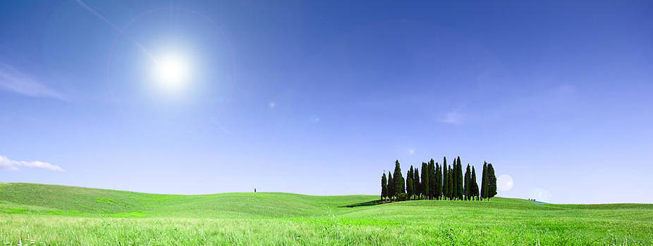 Francesco Riccardo  Iacomino - Tuscan Panorama