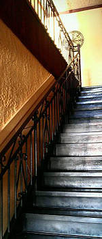 Tuscan Sun Staircase by Holly Tremaine