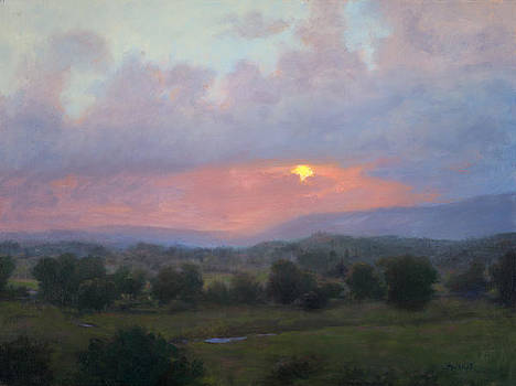 Tuscan Sunset by Mary Phelps