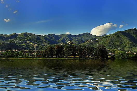 Enrico Pelos - TUSCANY lunigiana mounts landscape