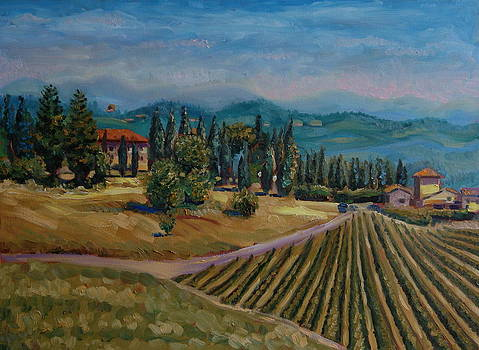Tuscany summer by Efim Melnik
