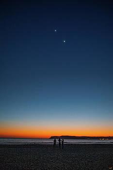 Twilight At Coronado Beach by Chris Lord