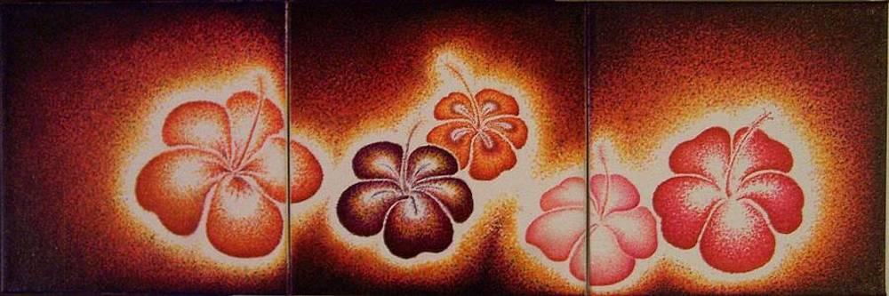 Twilight Hibiscus by Andrew Zeutzius