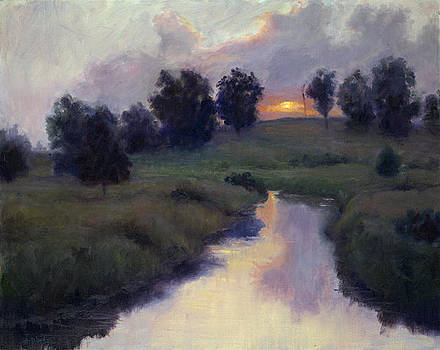 Twilight Meadow by Mary Phelps