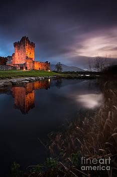 Twilight Ross Castle by Derek Smyth