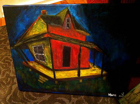 Twisted Scary House  by Mona Gaspard