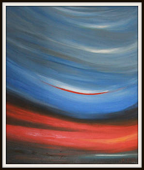 Twisting Sunset by Joanna Georghadjis