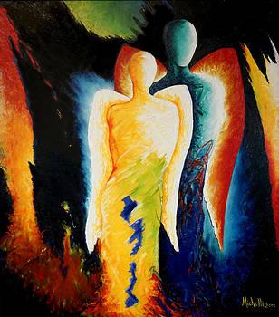 Two Angels by Joe Michelli