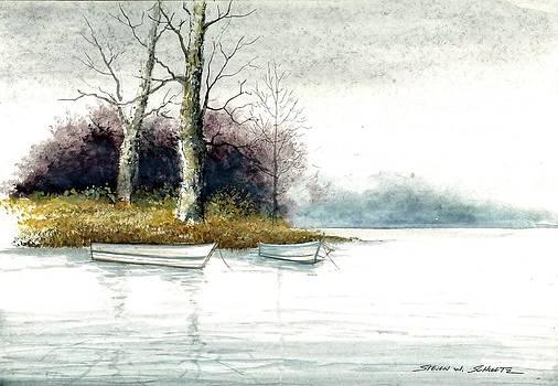 Two Boats by Steven W Schultz