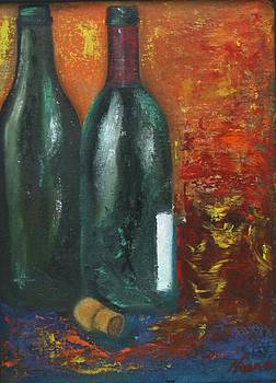 Two Bottles Of Wine by Neena Alapatt