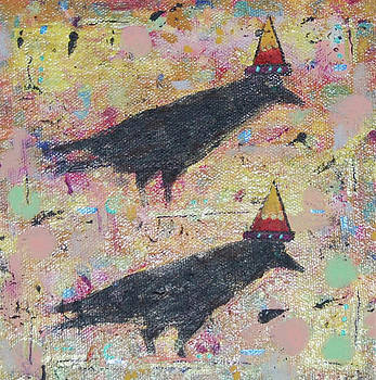 Two Crows by Lisa Buchanan
