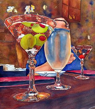 Two Olives Walk into A Bar... by Gerald Carpenter