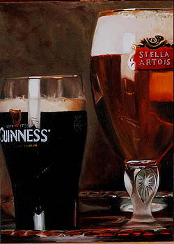 Two Pints by Stuart Curtis