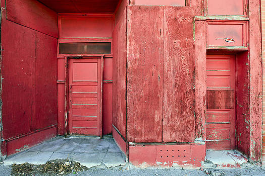 James Steele - Two Red Doors