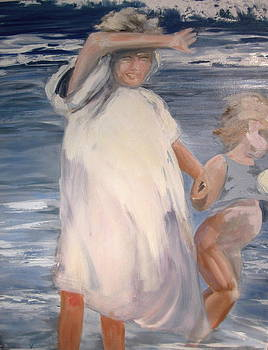 Two Sisters after Bastida by Valentine Estabrook