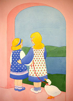 Two Sisters by Irene Hipps