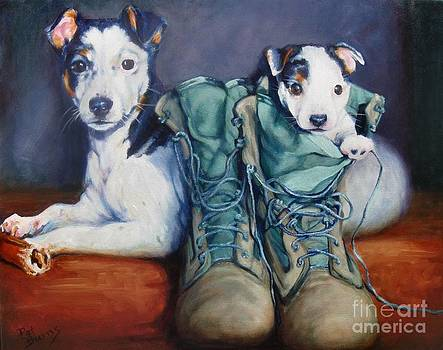 Tybee and Scout by Pat Burns