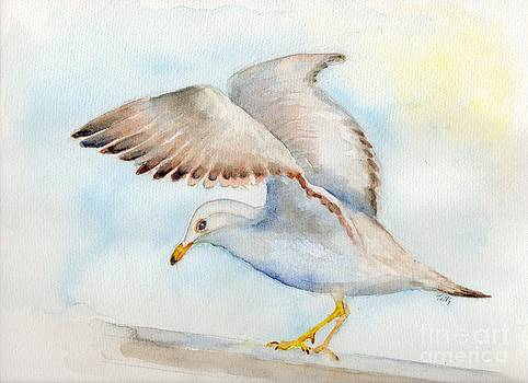 Tybee Seagull by Doris Blessington