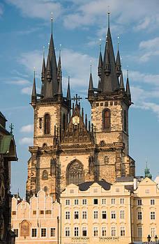 Tyn Church - Old Town of Prague - Czech Republic by Matthias Hauser
