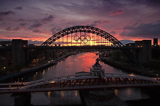 David Pringle - Tyne Bridges at Sunrise