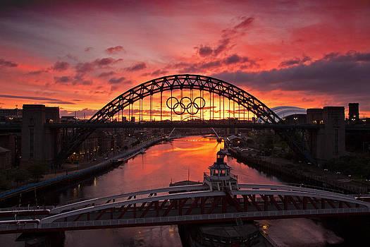 David Pringle - Tyne Bridges at Sunrise II