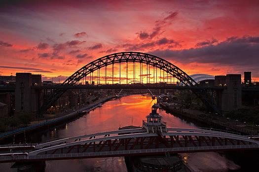 David Pringle - Tyne Bridges at Sunrise III