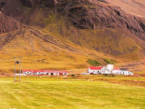 Typical Iceland Landscape by Sasha  Grebenyuk