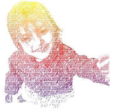 Nikki Marie Smith - Typography Portrait Childhood Wonder
