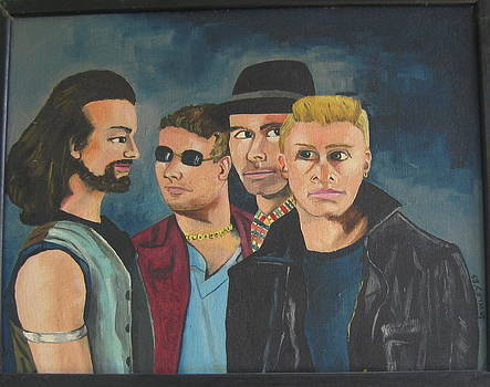 U2 Band by John Sowley