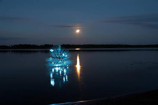 UFO unidentified floating object by Sergey Churkin