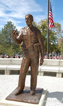 UHP Trooper Bronze Memorial Statue by Lena Toritch