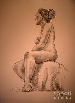 Ulrika after Maillot by Gill Kaye