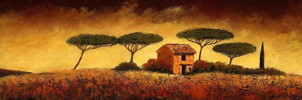 Umbrella Trees by Santo De Vita
