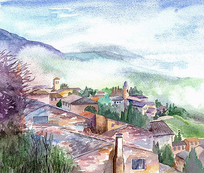 Umbrian Paradise by Lydia Irving