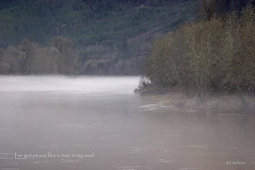 Mick Anderson - Umpqua River Fog