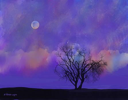 Under A Purple Sky by Arline Wagner
