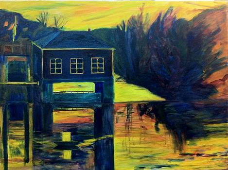 Under Painting for the Boat House by Jeremy McKay