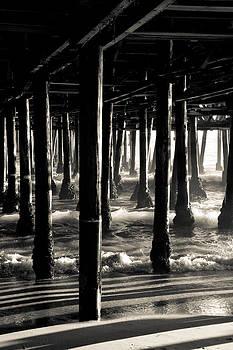 Under the Santa Monica Pier II by Heidi Reyher