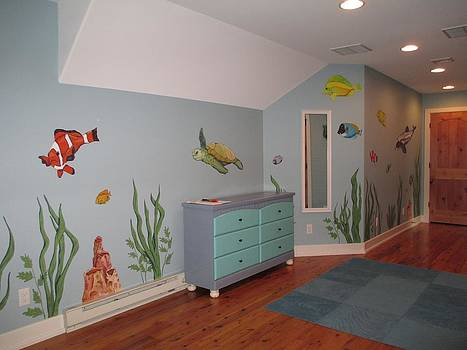 Andrew Hench - Under the Sea Mural