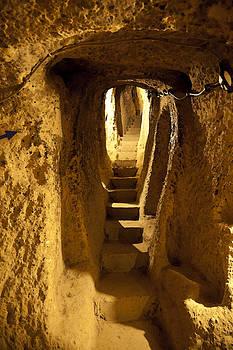 Kantilal Patel - Underground caves Derinkuyu