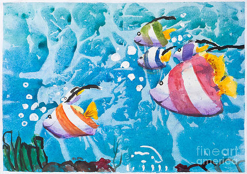Underwater and marine life by Jantima  Cha