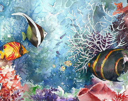 Underwater Tropical Fish  by Beth Kantor