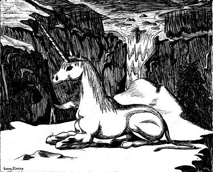 Unicorn in the Mountains by Corey Finney