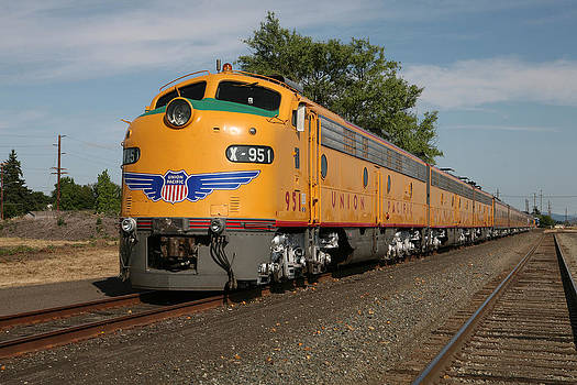 Union Pacific Passenger Train by Wildcat Photography