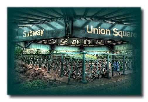 Union Square Subway by Frank Garciarubio