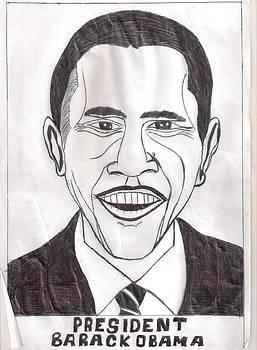 United State President Barack Obama by Ademola kareem oshodi